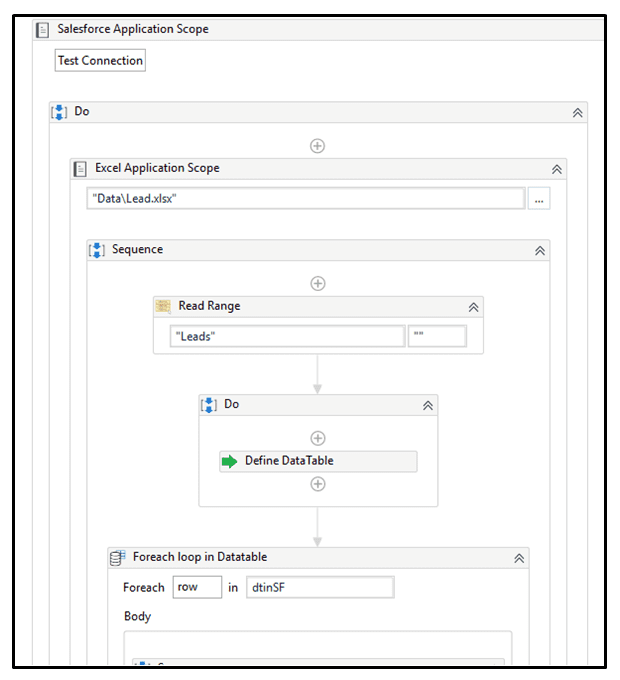 Exporting Salesforce Reports with RPA
