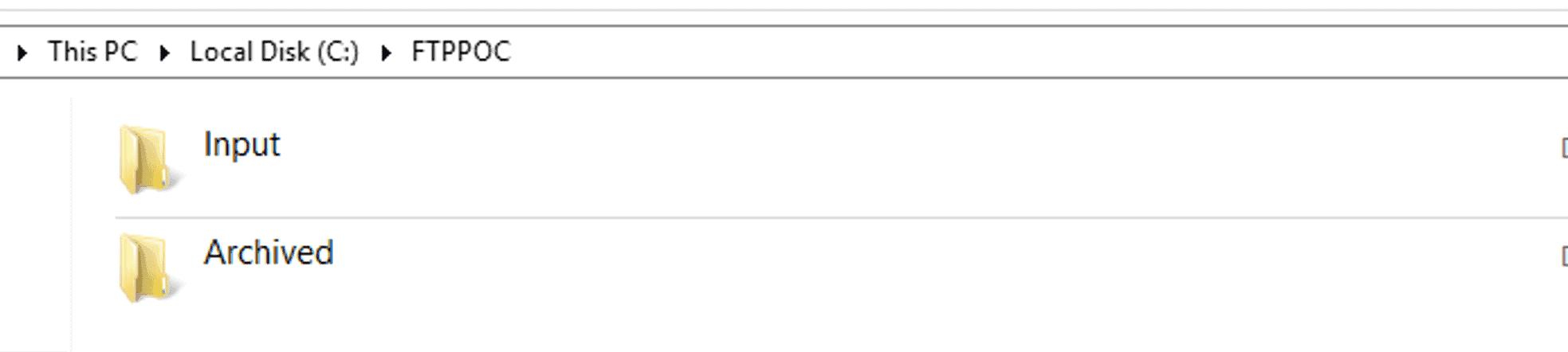 FTP File Access